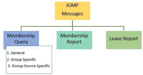 Internet Group Management Protocol (IGMP) messages